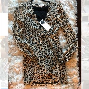 Brand new revolve Cheetah Dress